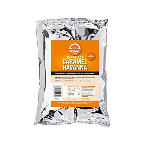 Popcorn Zucker Caramel Havanna Fertig Mix Smart Pop 1 kg Beutel Zuckerwatte Backen