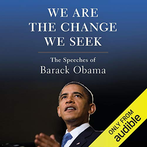 We Are the Change We Seek audiobook cover art