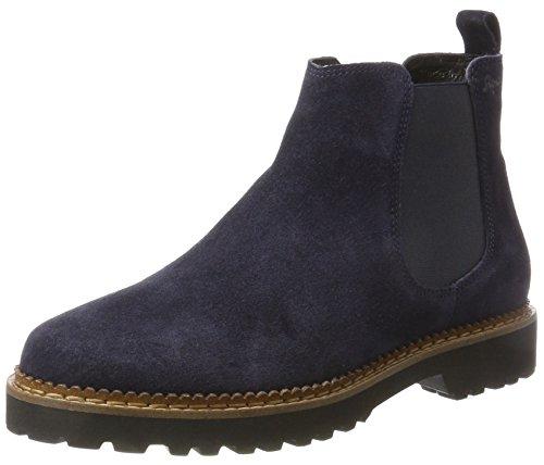 Sioux Vesela-172, Damen Chelsea Boots, Blau (Night), 37 EU ( 4 UK)