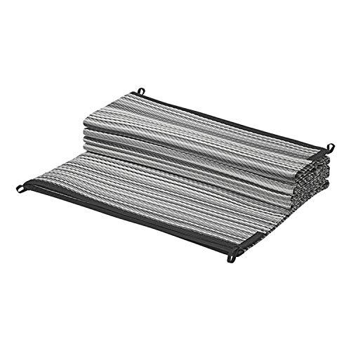 ProPlus PAT Europe B.V. Zeltteppich Grau Vorzeltteppich mit Schlaufen Ösen Vorzeltboden (250x300)