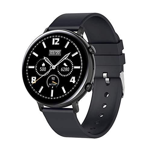 TIANYOU Gw33 Smart Watch, Ip68 Ecg Impermeable Ecg + Ppg Ritmo Cardíaco Monitoreo de la Presión Arterial Recordatorio de Salud Smartband, para Android 5.1 Y Superior, Ios9.0 Y Super