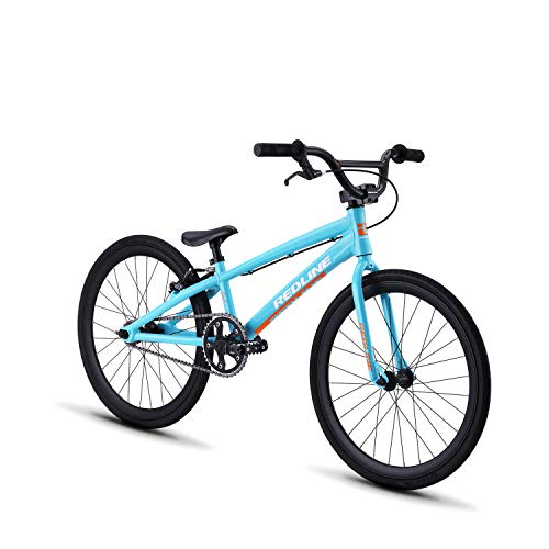 Redline Bikes Proline Youth BMX Race Bike 16/18/20 Inch Wheel, Proline JR 20, Turquoise