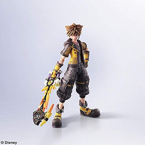 Square Enix Abysse Corp_AFGSQX264 Kingdom Hearts III - Bring Arts Sora Guard Form, Multicolor