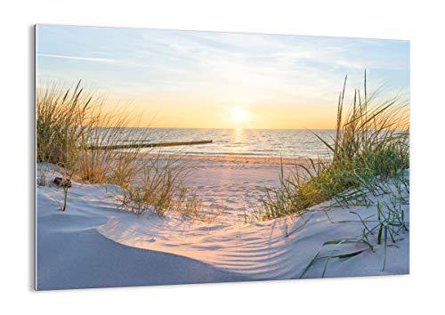 Bild auf Glas - Glasbilder - Einteilig - Breite: 70cm, Höhe: 50cm - Bildnummer 3989 - zum Aufhängen bereit - Bilder - Kunstdruck - GAA70x50-3989