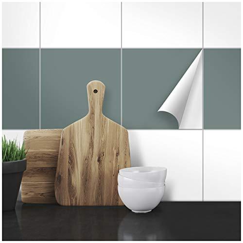 Wandkings Fliesenaufkleber - 33 x 33 cm, 20 Stück für Fliesen in Badezimmer, Küche & mehr