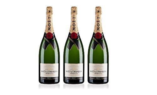 Lot de 3 Champagnes Moët & Chandon Impérial Brut 75cL