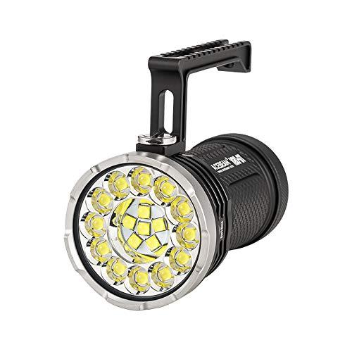 ACEBEAM X80-GT Taschenlampe, 18 CREE XHP50.2 LEDs mit max. 32500 Lumen, wasserdicht IPX8 unter Wasser, 30 Meter.