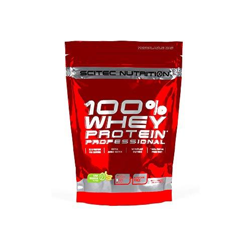 Scitec Nutrition 100% Whey Protein Professional con aminoácidos clave y enzimas digestivas adicionales, 500 g, Kiwi-Plátano