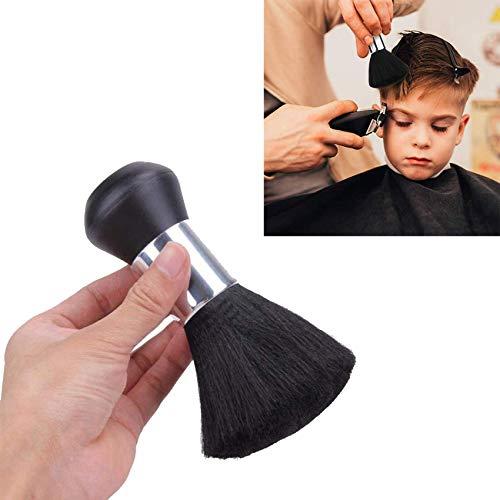 Friseur Nackenpinsel,Barber Soft Duster Pinsel,Zubehör Barbier Haarpinsel,Frisör Nackenpinsel mit Plastik Griff,Bürste Salon