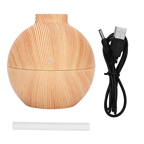 Mini Difusor De Aceite Esencial De Aroma Usb De 130 Ml, Con Luz De 7 Colores, Humidificador De Niebla Fría Para Humificadores De...