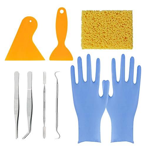 WANDIC Mosaik-Werkzeuge, Mosaikfliesen, Werkzeuge für DIY-Mosaik-Projekte, Mosaik-Art-Kit mit Schwamm, 5D-Diamant-Malerei, Fix-Werkzeuge, Haken und Sonden