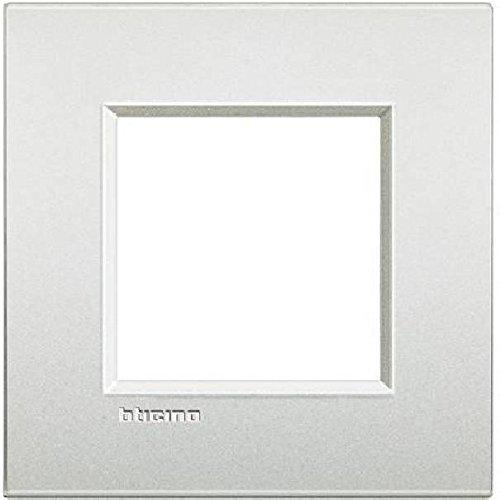 Ll Placa 2P blanco perla