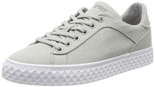 ESPRIT Damen Indya CO LU Sneaker, Grau (Light Grey 040), 39 EU