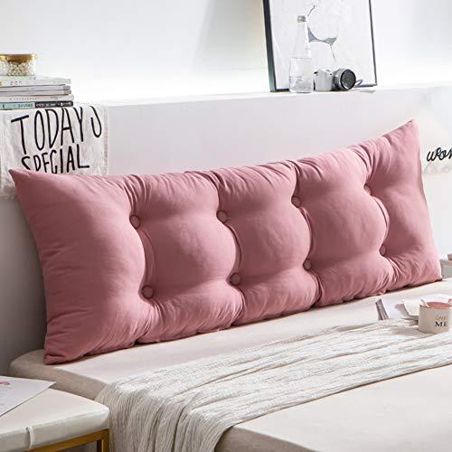 HAOLY Rückenlehnenkeil,kopfteil Bett Kissen,großes Dreieckiges Kissen,kopfteil Für Betten,Sofa Rückenpolster-a 180x15x50cm(71x6x20inch)