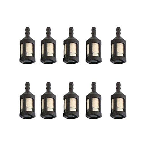 Baoblaze Filtros de Combustible Universales de 10 Piezas ZF-1
