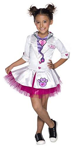 Rubie's Child's Barbie Pet Vet Costume, X-Small