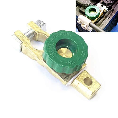 Qiorange Auto Kfz 6-24V Universell Autobatterie Schalter Trennschalter Batteriehauptschalter Stromunterbrecher Hauptstromschalter Hauptschalter für General Auto 14-17mm (1 Stück)