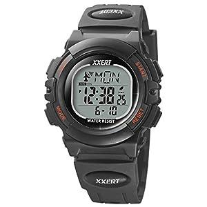 [イグザート] 腕時計 電波ソーラーウォッチ XXW-500BK メンズ ブラック