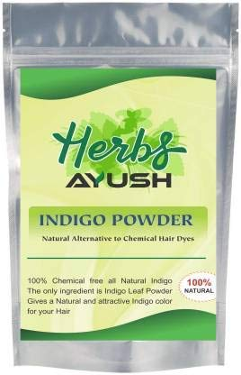 Herbs Ayush Herbs Ayush Indigo Powder For Hair Black - 250 Grams |pack of 1
