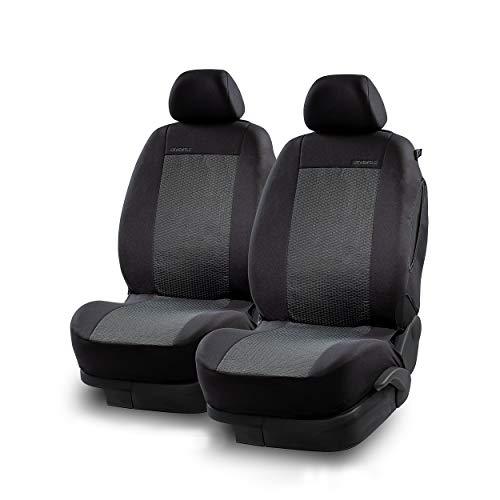 LOEWENFELD Sportliche Autositzbezüge Vordersitze [2er Set - Einfach Installiert] Sitzbezüge Auto Vordersitze [Universal] Auto Sitzbezüge, Kariert,