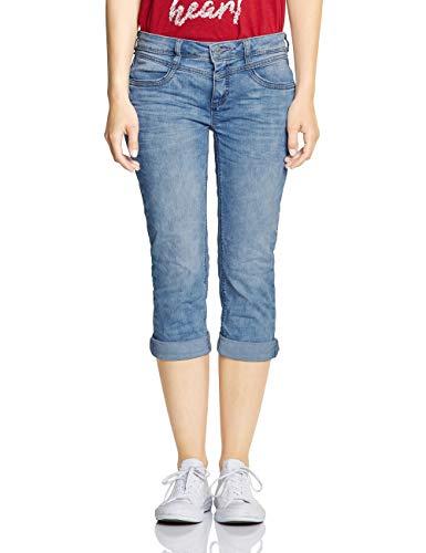 Street One Damen 372323 Jane Slim Jeans, Light Blue Authentic Washed, W30 (Herstellergröße:30)