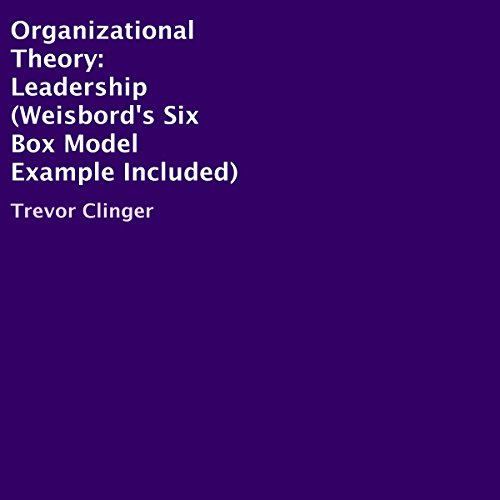 Organizational Theory: Leadership audiobook cover art