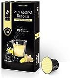 King Cup - Zenzero e Limone da Zuccherare - 1 Confezioni da 10 Capsule Compatibili Nespresso* ( 10 capsule )