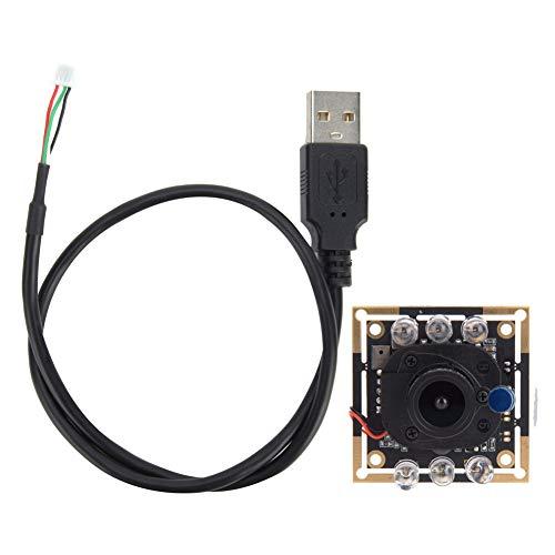 LinLiQiao Modulo Telecamera USB Modulo Telecamera HD Modulo Telecamera Chip OV2710 IR-Cut Commutazione Automatica 1920x1080 30fps 94 °