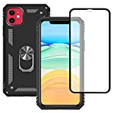 Yiakeng Apple iPhone 11 Case With Tempered Glass Screen