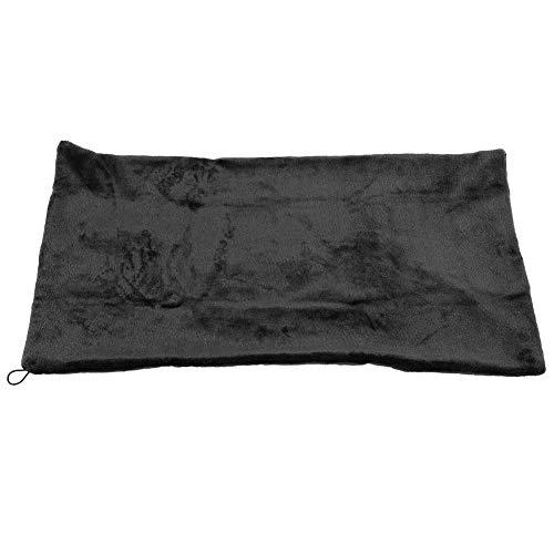 V GEBY USB-beheizter Schal, elektrische Heizdecke, Schulter-Nacken-Heizung, weich, für den Winter, warm, gesunde Pflege (schwarz)