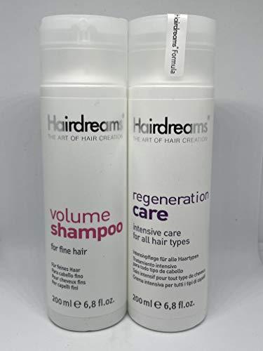 Hairdreams Volume Shampoo & Regeneration Set