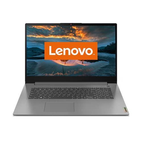 Lenovo IdeaPad 3i Laptop 43,9 cm (17,3 Zoll, 1920x1080, Full HD, WideView, entspiegelt) Slim Notebook (Intel Pentium Gold 7505, 8GB RAM, 512GB SSD, Intel UHD-Grafik, Windows 10 Home) grau