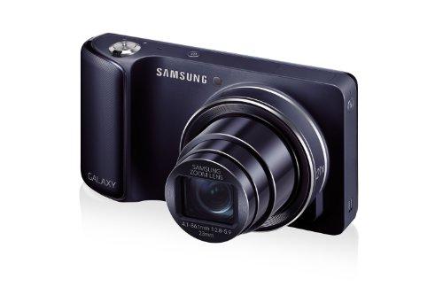 Samsung Galaxy Camera Digitale Kompaktkamera (16 Megapixel, 21-Fach Opt. Zoom, Bluetooth, Schwarz