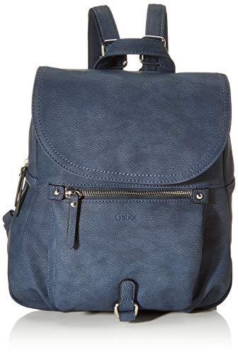Gabor bags Rucksack Damen Hanne, Blau, M, Rucksackhandtasche, Gabor Tasche Damen