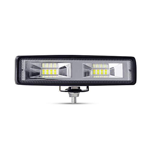 Offroad Scheinwerfer, YEEGO 1pcs 36W LED Scheinwerfer Arbeitsscheinwerfer 12V 24V Zusatzscheinwerfer für SUV, UTV, ATV Truck, Trakto