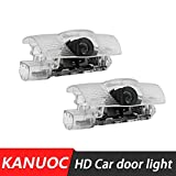 kanuoc Car Door Lights Logo for Lexus ES GS GX460 IS LS RC RX UX Series, Led Laser Car Door Ghost Shadow Welcome Courtesy Step Light, Plug and Play