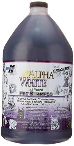 Doble K Alpha White - Champú para Mascota Especial para Pelaje Blanco, 3,8litros