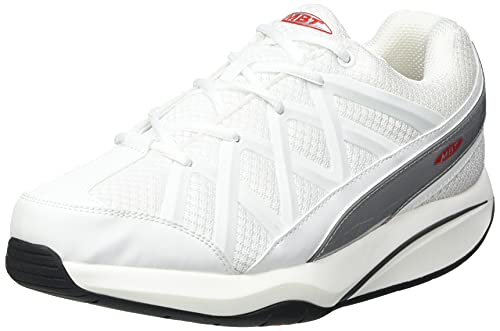 MBT Rocker Bottom Shoes Women's – Athletic Walking Shoe Sport 3X - White