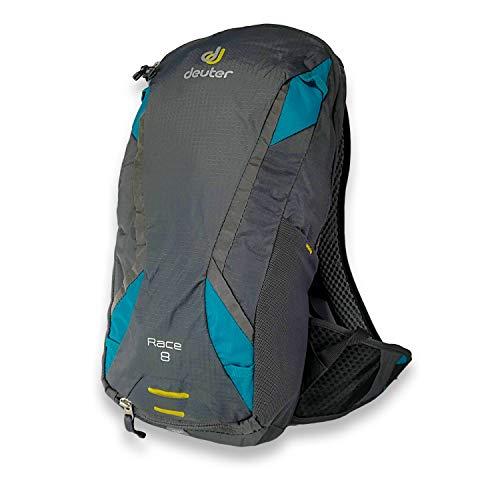 Deuter (ドイター) Race レース バイク バックパック 8L Bike Backpack (チャコールブルー) [並行輸入品]