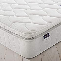 COMFORT & DURABILITY   featuring Silentnight's Mira coil zoned spring system technology for superior pressure relief SOFT PILLOWTOP   plush Eco fibre pillow top layer for extra comfort and cushioning MEDIUM/FIRM   comfort feel mattress, with 26.5cm d...