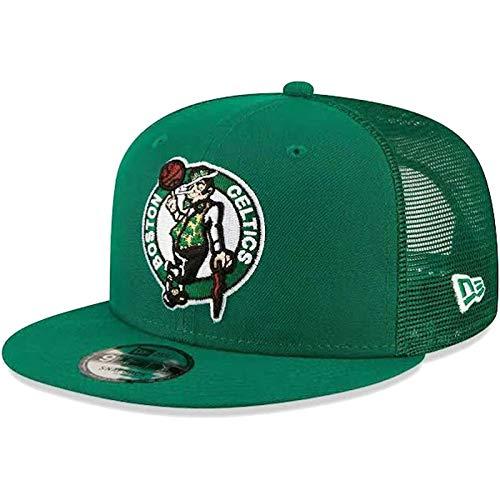 New Era NBA Boston Celtics 950 Classic Trucker - Gorra para hombre, color verde