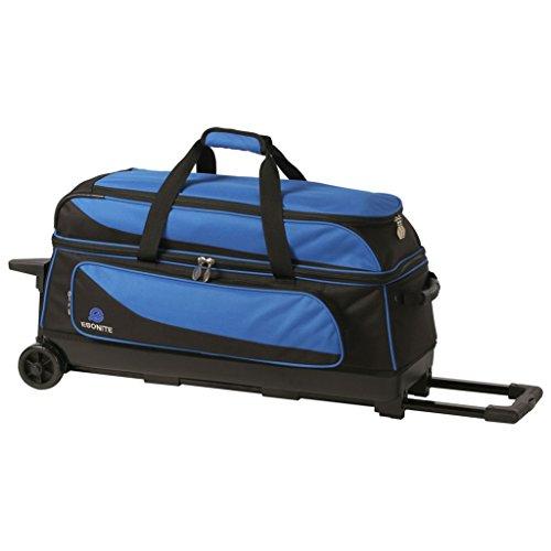 Ebonite Transport 3 Ball Roller Bowling Bag viele Farben