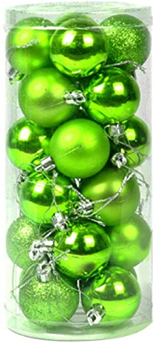 Dreamsbox Christmas Fairy Pallina Di Natale In Plastica, Decorazione Natalizia Albero Natale, Verde