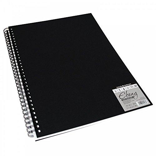 Daler-Rowney Skizzenbuch, A4, Hochformat, harter Einband, spiralgeheftet