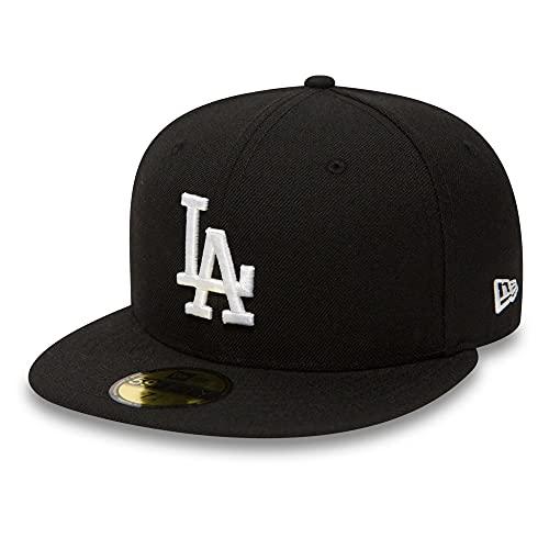 New Era Los Angeles Dodgers 59fifty Cap MLB Basic Black/White - 7-56cm