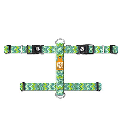 Max & Molly Urban Pets H-Harness - Vintage - M