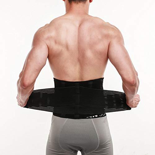 YANxrYD Waist Trimmer Taille Trainer GüRtel, Taillenmieder GüRtel GewichthebergüRtel Atmungsaktiv Herren Damen, Fitness GüRtel Krafttraining Crossfit Training TrainingsgüRtel Hocke Squat(S/M/L/XL)