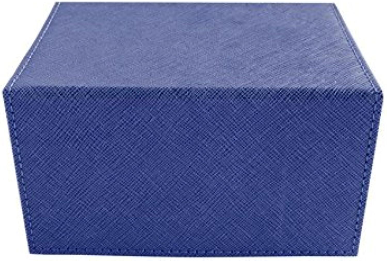 Creation Line Deck Box  Medium Dark bluee