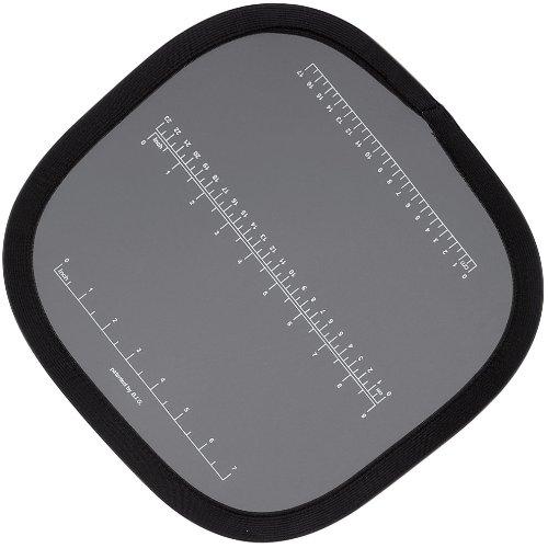 Helios Falt-Graukarte mit cm-Einteilung 30 cm