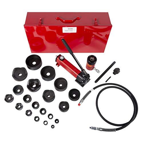 Hydraulic Punch Driver Set, 10 ga. Steel